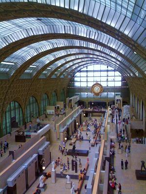 Musée d'Orsay in Paris by Gae Aulenti