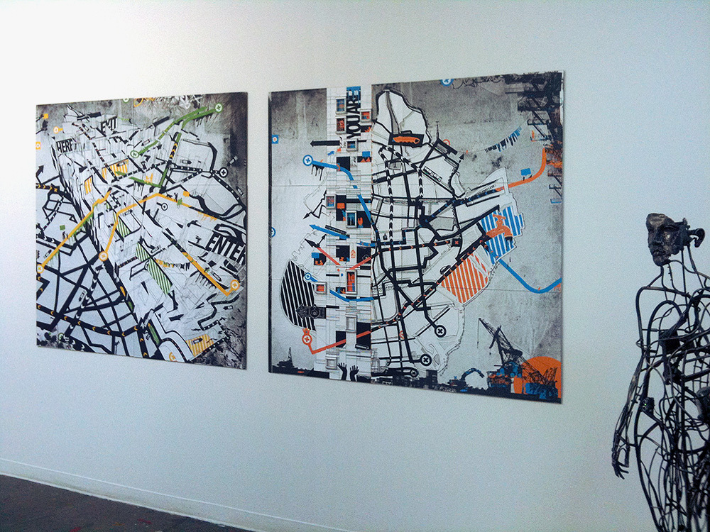 Corridor Gallery Installation View 02
