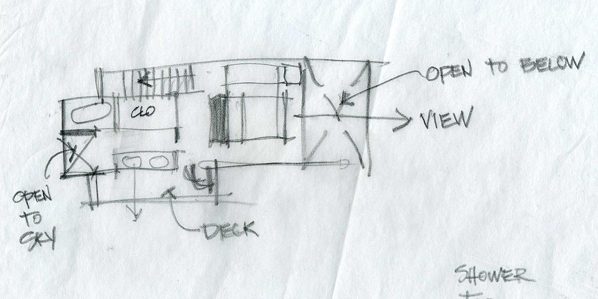 Upper Level Concept Sketch 1