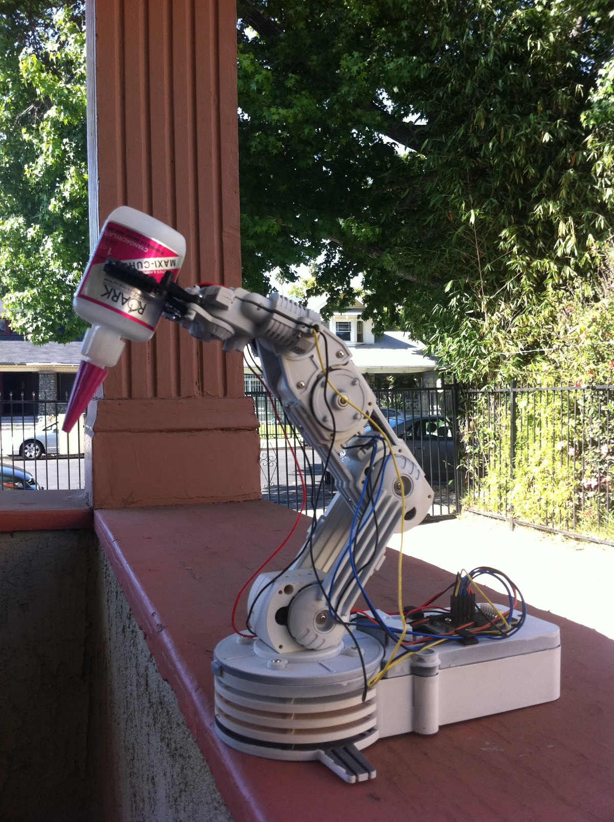 4 axis CNC Glueing robotic Arm