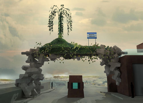 Angelidakis' 2010 project