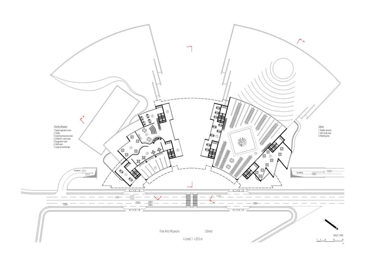 Plan, level 4 (Image: Architecton)