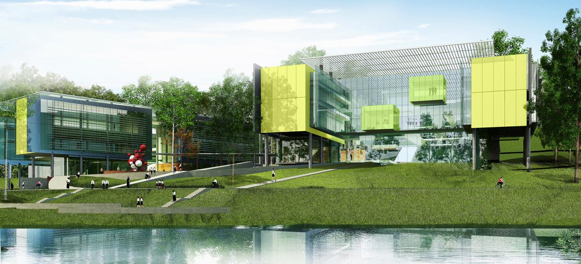 Rayong Science & Technology University, Fielding Nair International (photo courtesy http://www.fieldingnair.com)