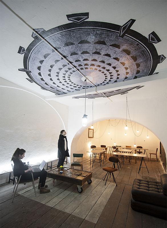 Camenzind Office in Belgrade, Serbia by Iva Bekic & Tamara Popović; Photo: Relja Ivanić
