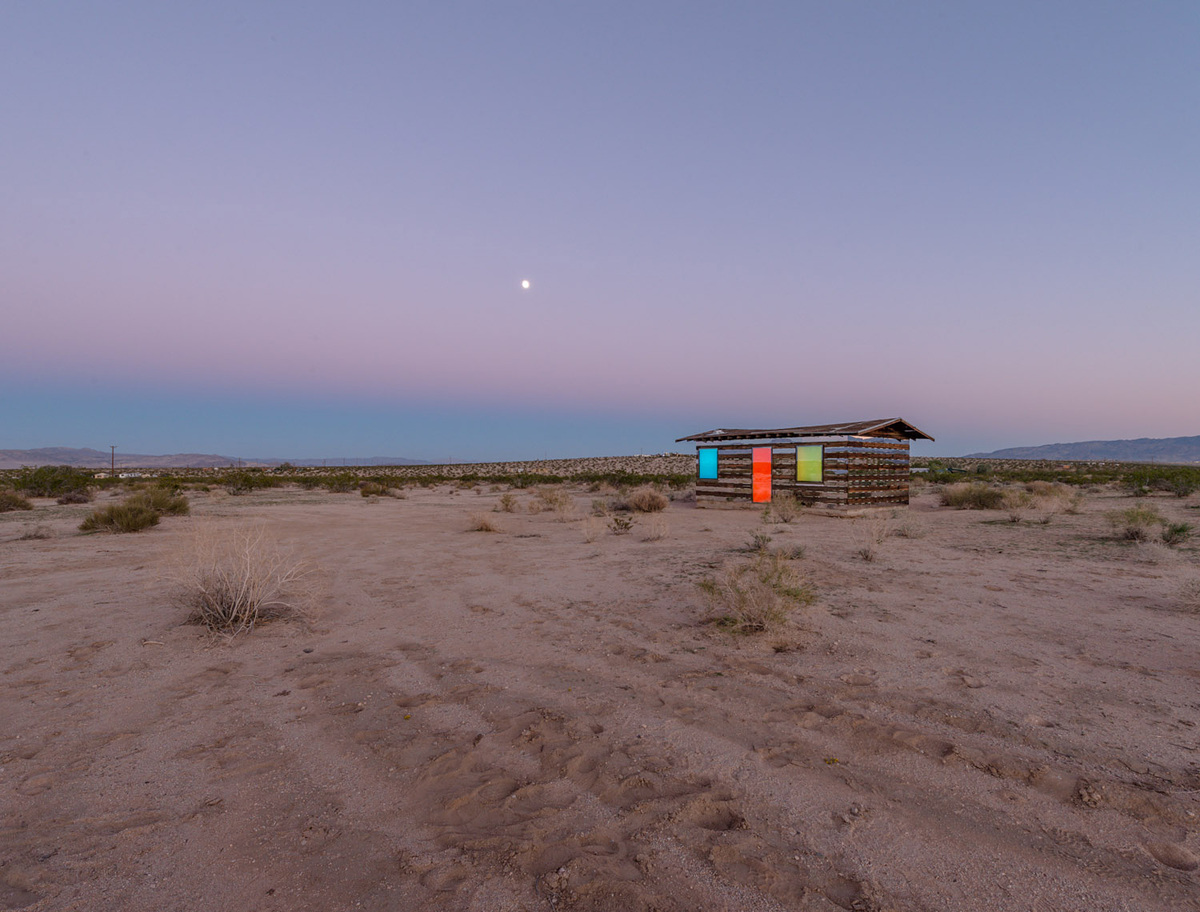 Lucid Stead by Phillip K. Smith, III. Photo: Steve King.