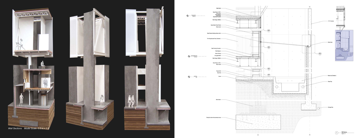 Wall Section Model and Wall Section Construction Document