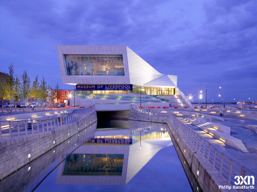 Ready to open next week: the new Museum of Liverpool by 3XN (Photo: Phillip Handforth)
