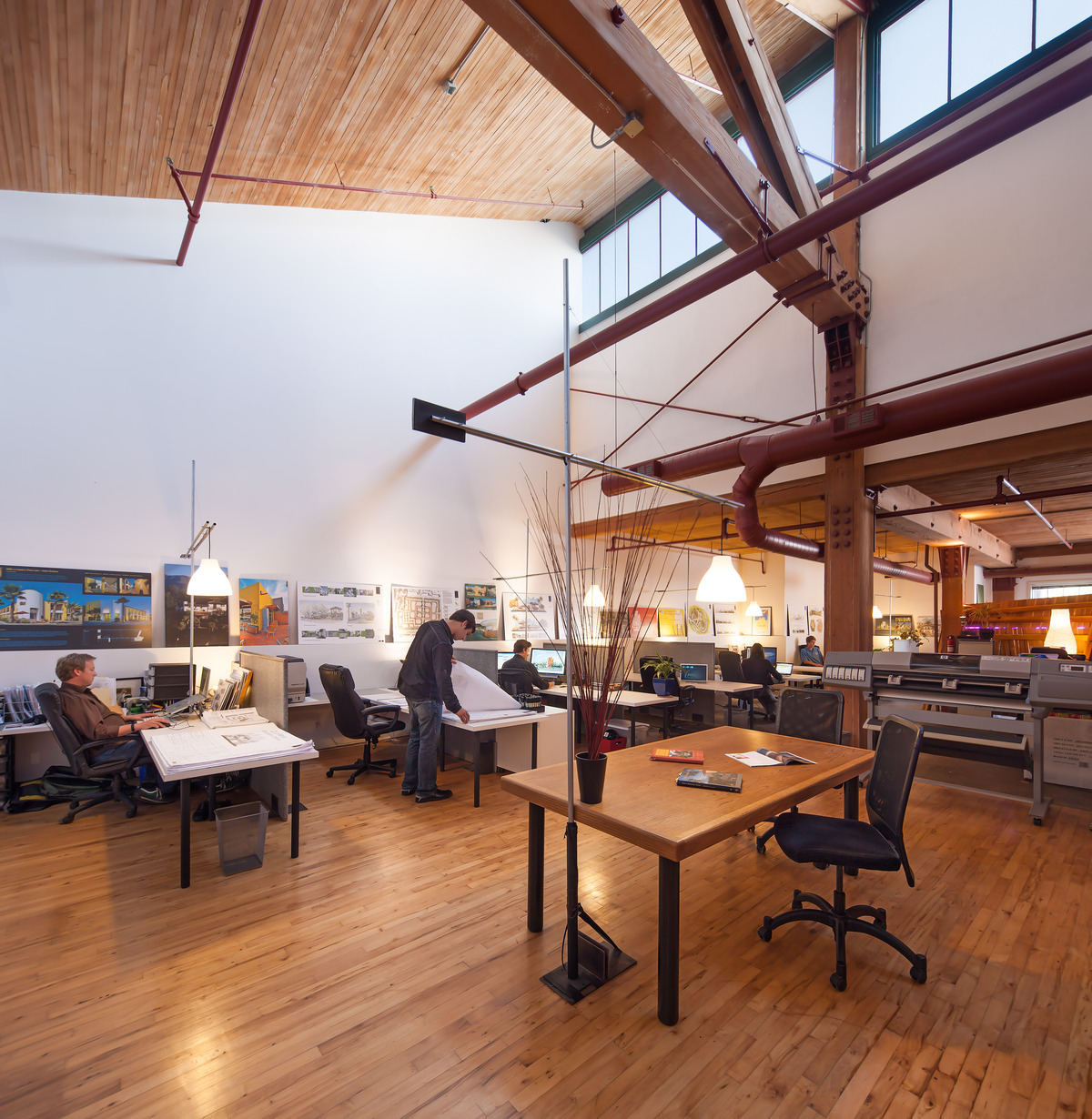 Architectural Office + Work Space