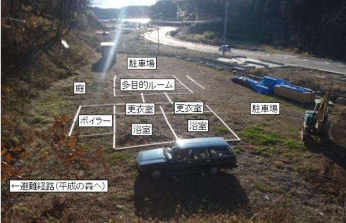 site area mockup