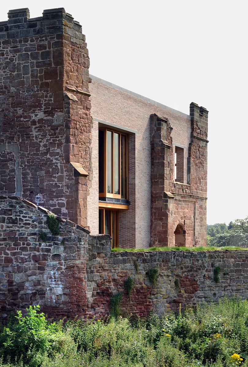 Astley Castel, Warwickshire, UK by Witherford Watson Mann