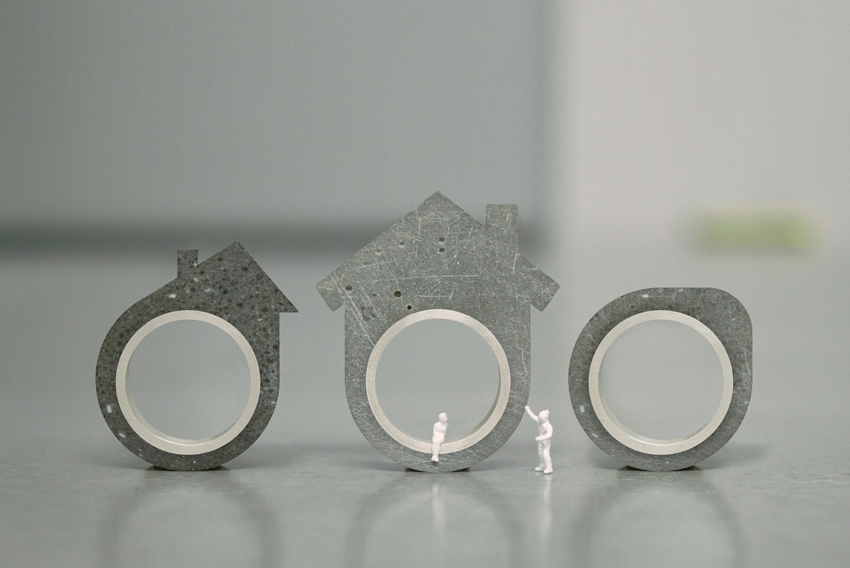 Rings by Architact Collective. Photo courtesy of Linda Bennett.
