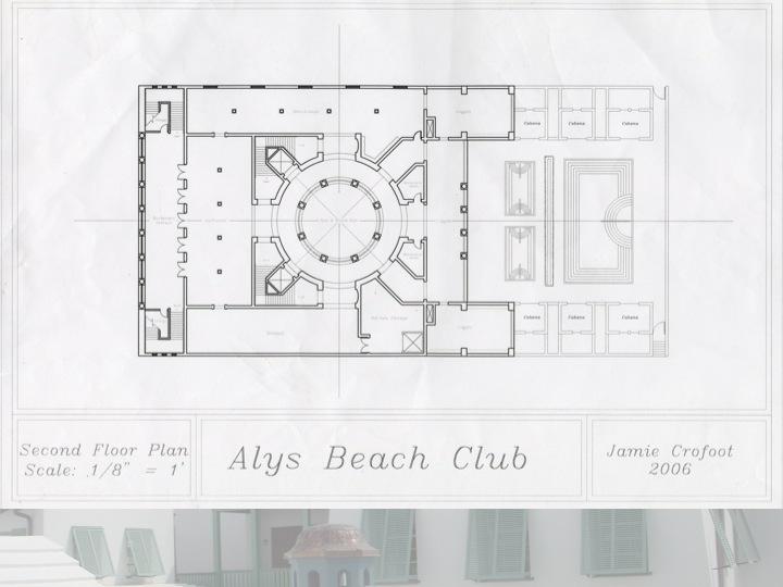 2nd Floor Plan of the Beach Club