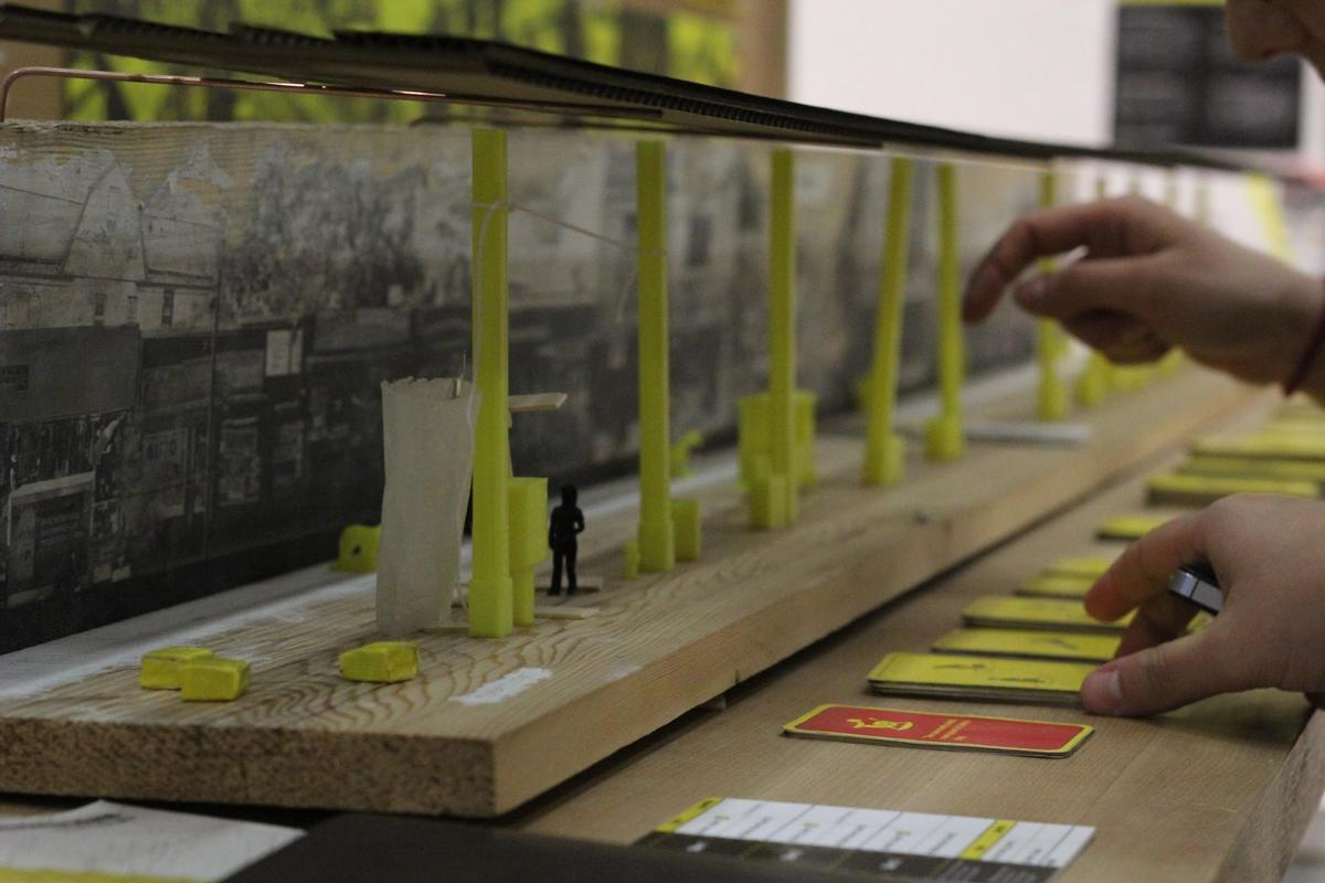 Images of Embodied Structures: A Generative Urban Game. Student Team: Matina Cavayas and Matt Hagen, Carleton University MArch Candidates. Courtesy of Quilian Riano.