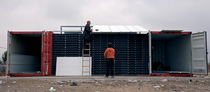 Cañada Real Educational Center by Todoxlapraxis y Recetas Urbanas, Madrid 2010