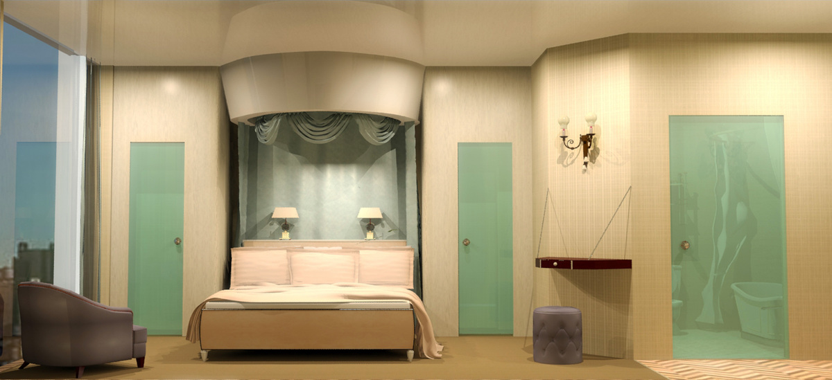 View-Bedroom Elevation 1