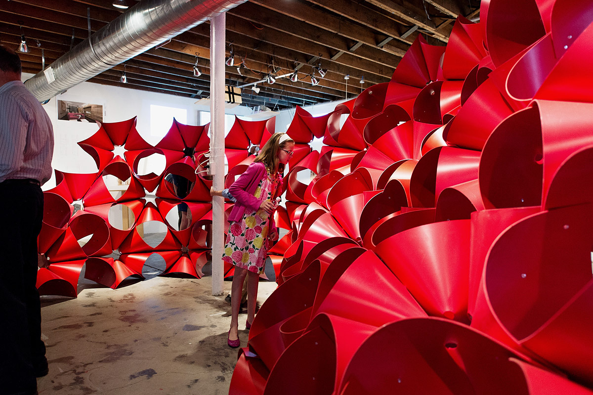 Installation at Land of Tomorrow (LOT), Lexington, KY (Photo: Magnus Lindqvist)