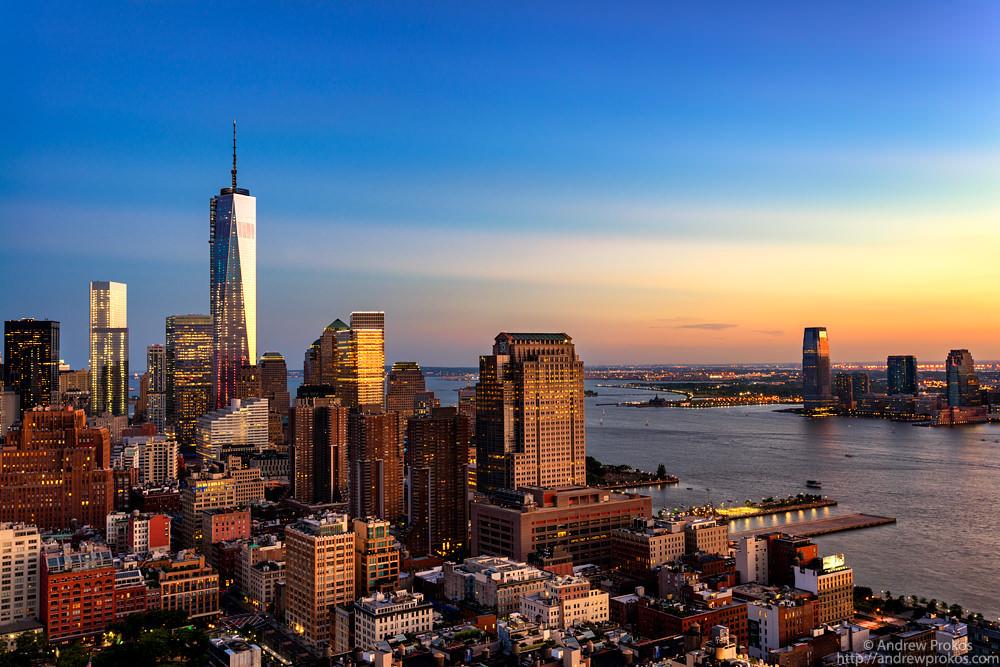 Lower Manhattan View from Trump SoHo Hotel © Andrew Prokos