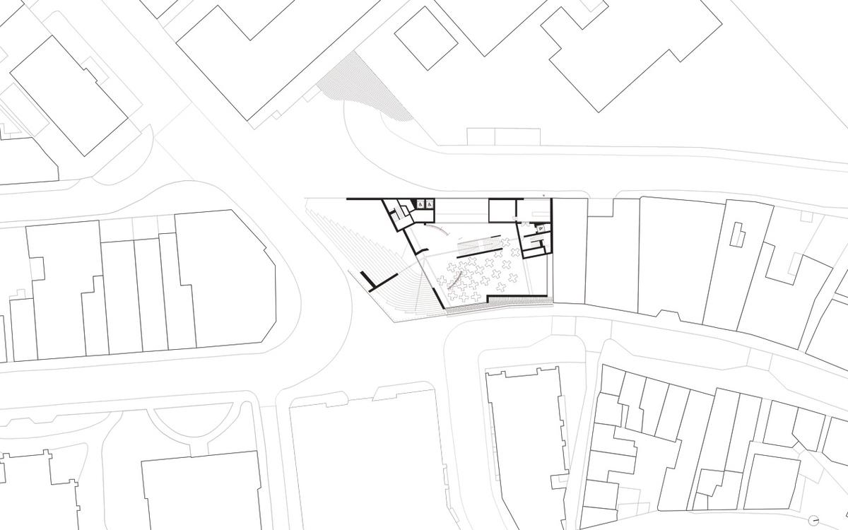 Ground floor contextual plan