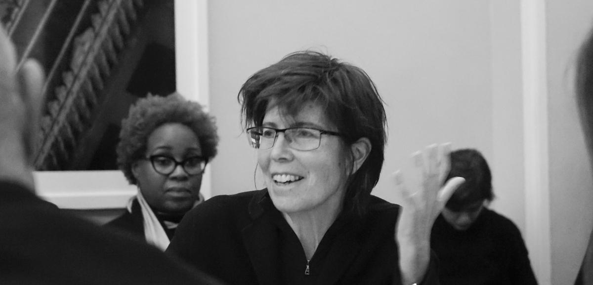 Elizabeth Diller speaks at the Columbia GSAPP. Image: flickr.