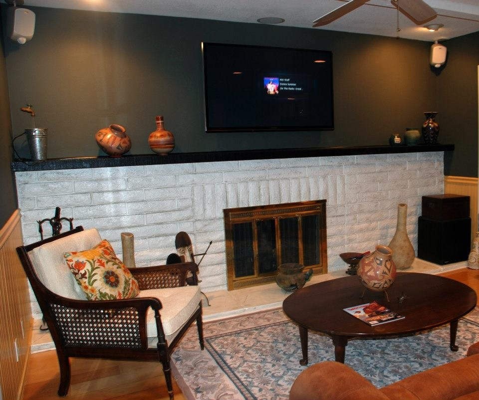 Family room, completed