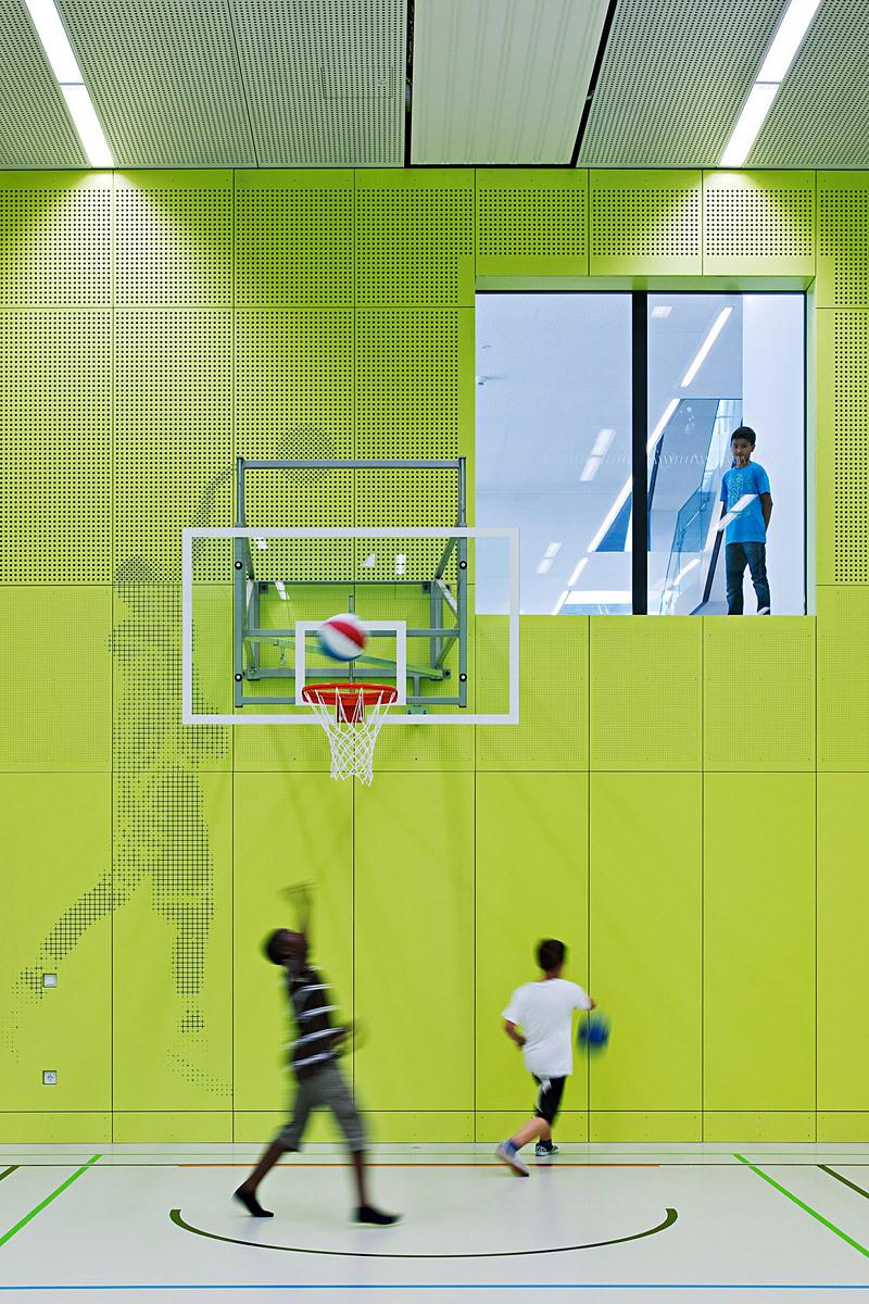 Inside the gym hall (Photo: Hertha Hurnaus)
