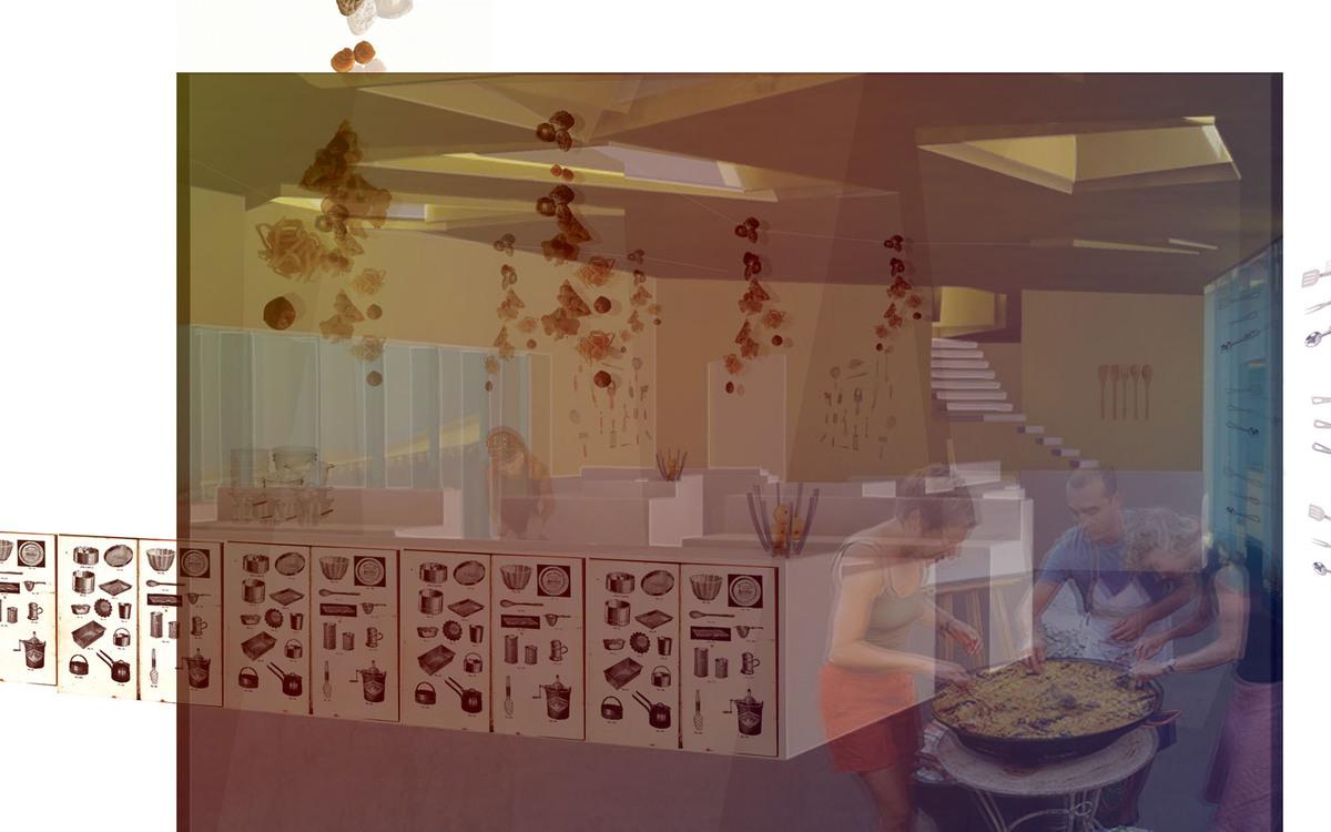 :Kitchen Interior:
