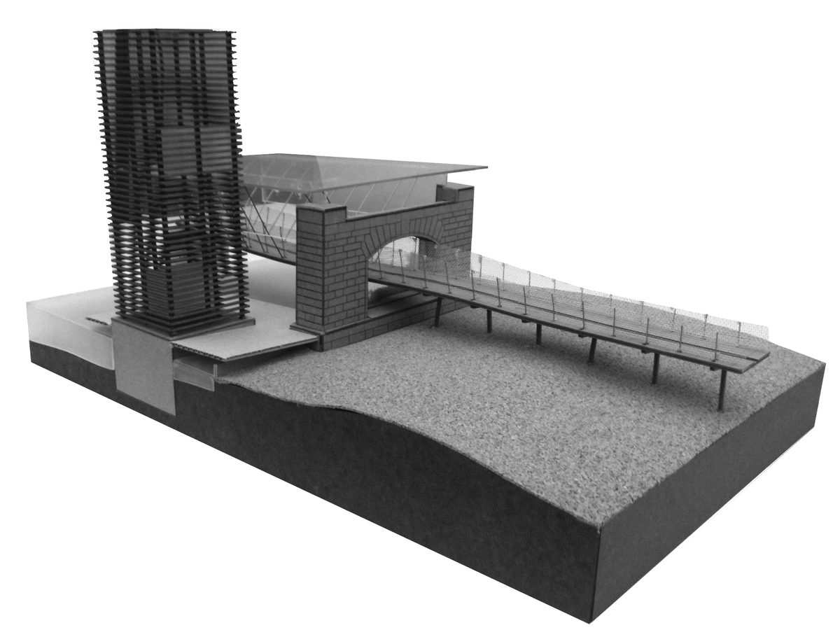 Study Model of Support Arch