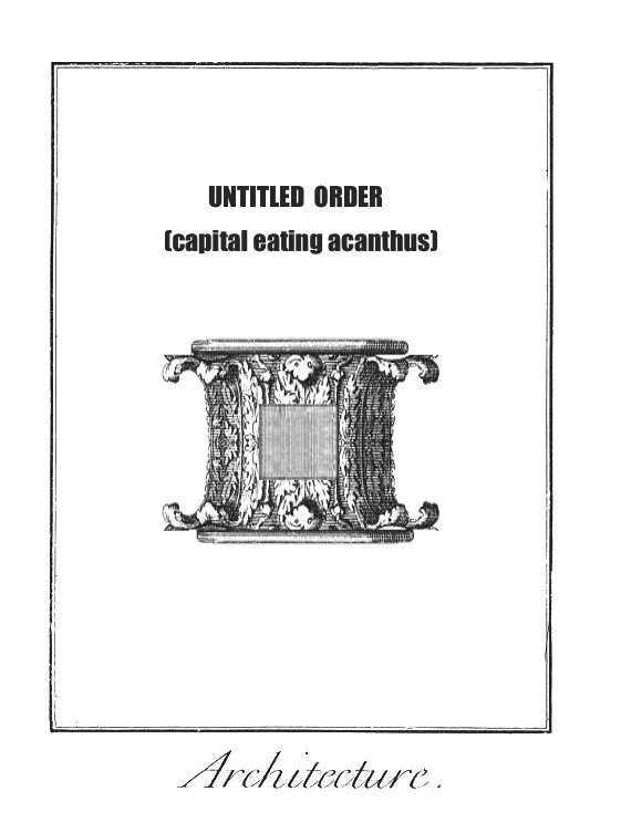 Sculpture - ooooops! - capital that eats (from Giovanni Anselmo)