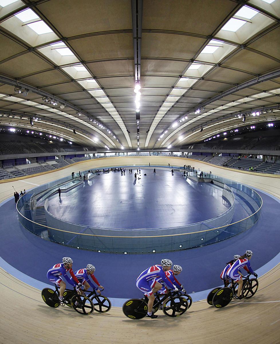 Shortlisted: Olympic Velodrome London 2012, UK by Hopkins (Photo: Richard Davies)