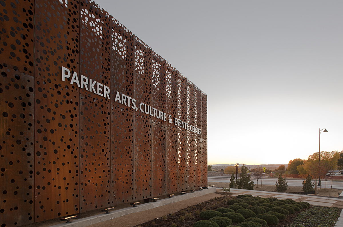 Perforated Corten Panels Realized