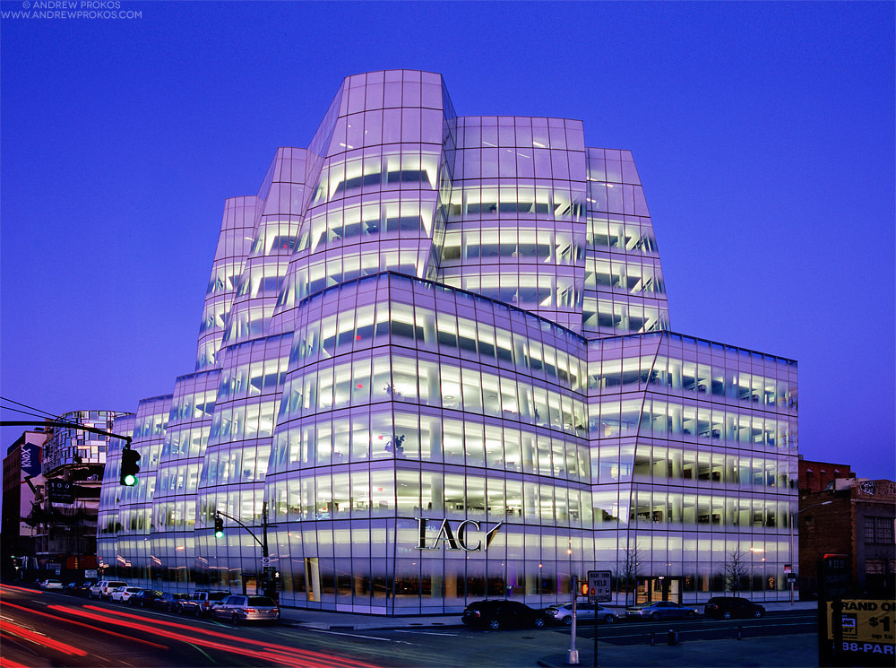 IAC Building, NYC. Architect: Gehry Partners LLP © Andrew Prokos