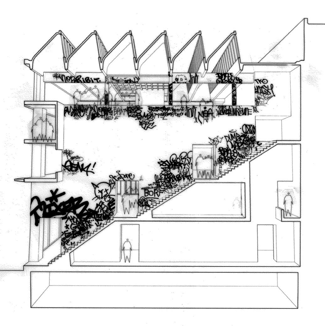 Section from SoHo project, courtesy of John Szot Studio.