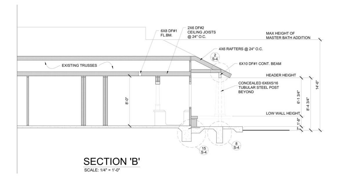 Pavilion Section 'B'