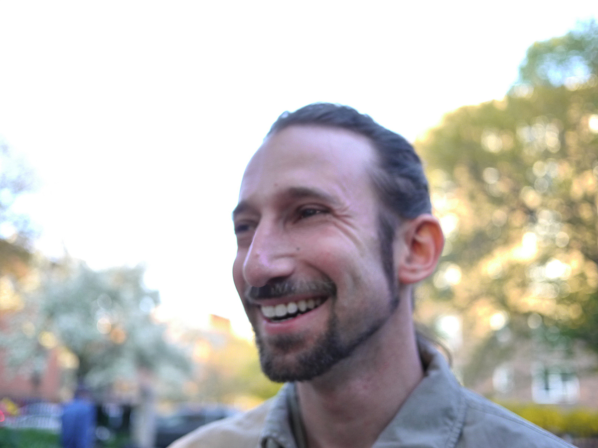 Abraham Burickson, photo by Ariel Abrahams.