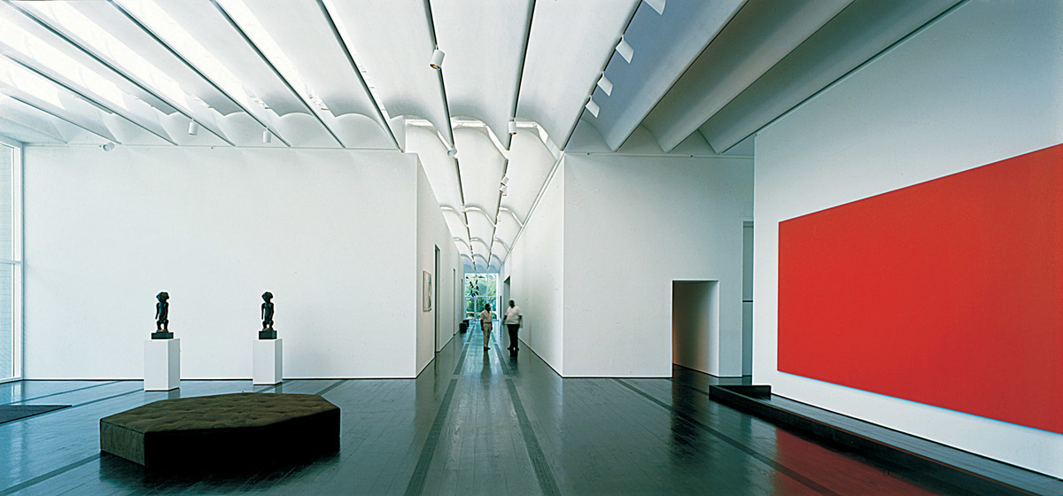 View of one of the galleries (Photo: Hunter Alistair)