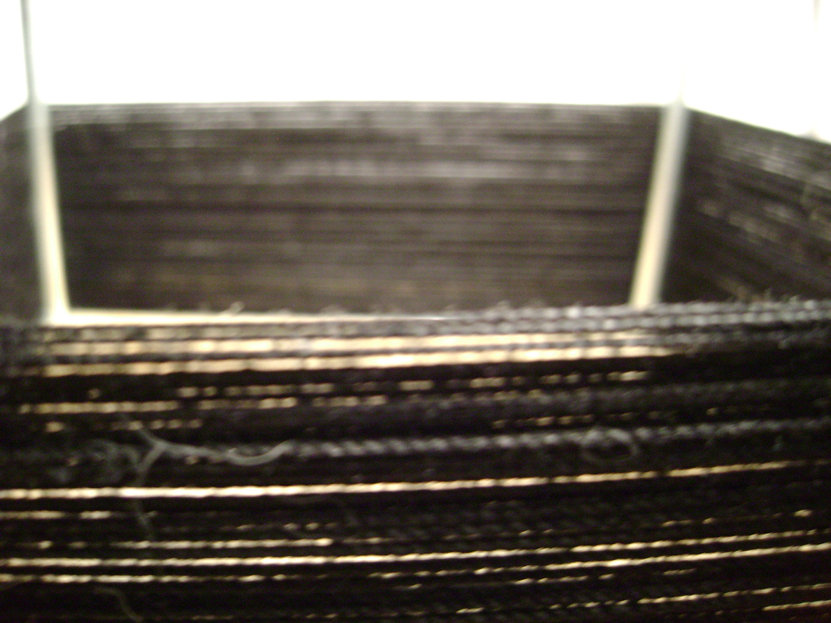 A material study dealing with string and nails. This shows the tension that can be made from the wrapping of string.