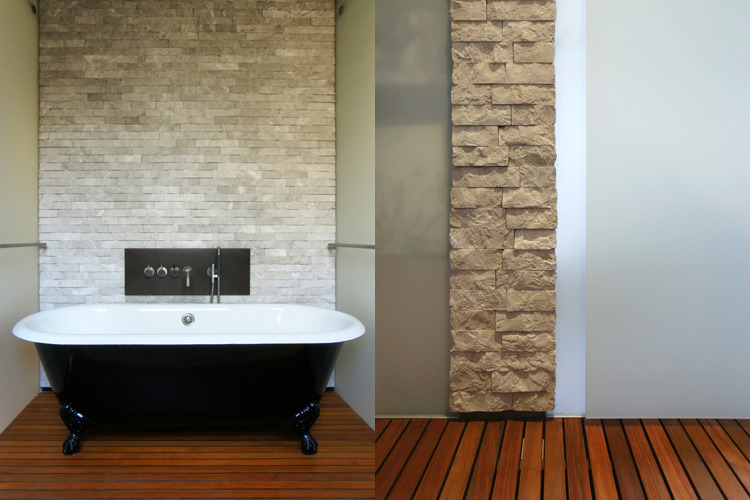 Midtown Minimal Master Bath. Photo: T. G. Olcott