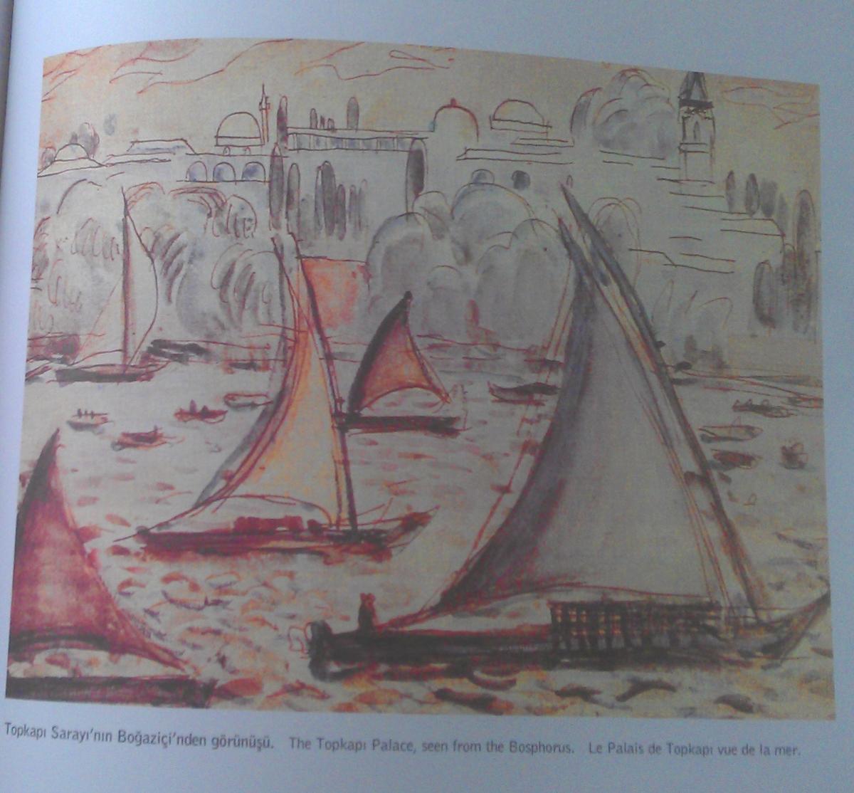 Corbusier watercolor