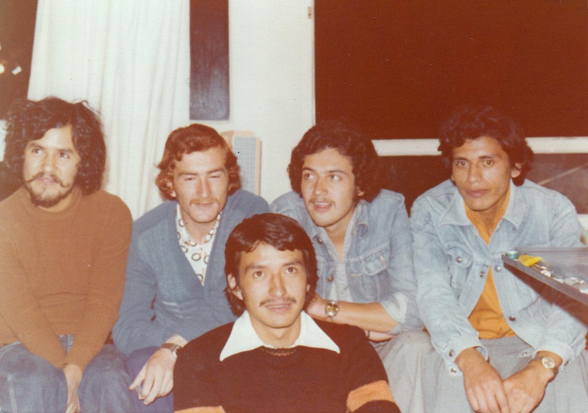 From left to right: Jaime Bautista, Oswaldo Arteaga, Francisco Bohorquez, Fernando Arregui & Edgar Barahona