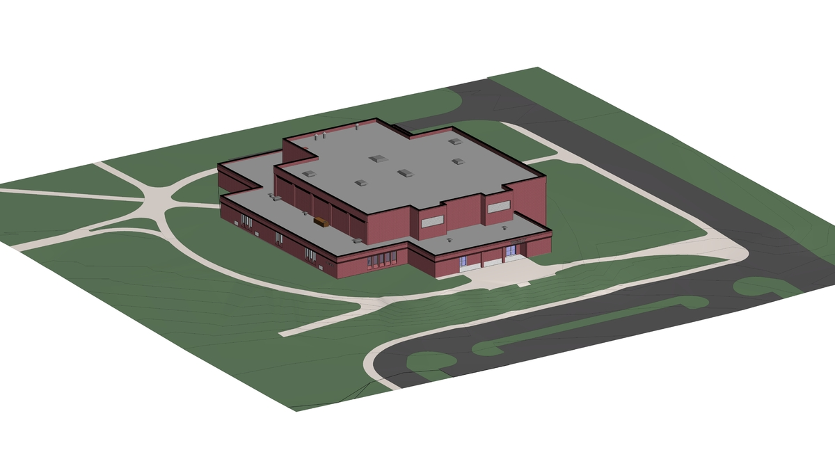 Perspective Image of Model