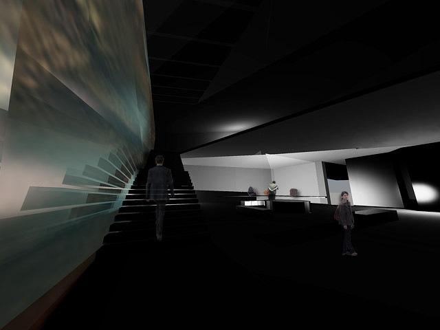 ground layers exhibit room