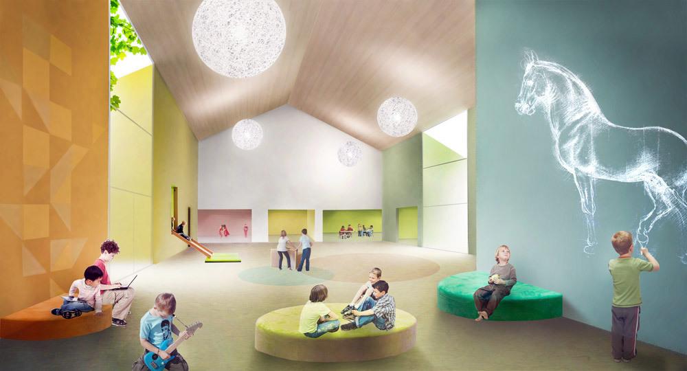 Interior rendering (Image: Architects Rudanko + Kankkunen)