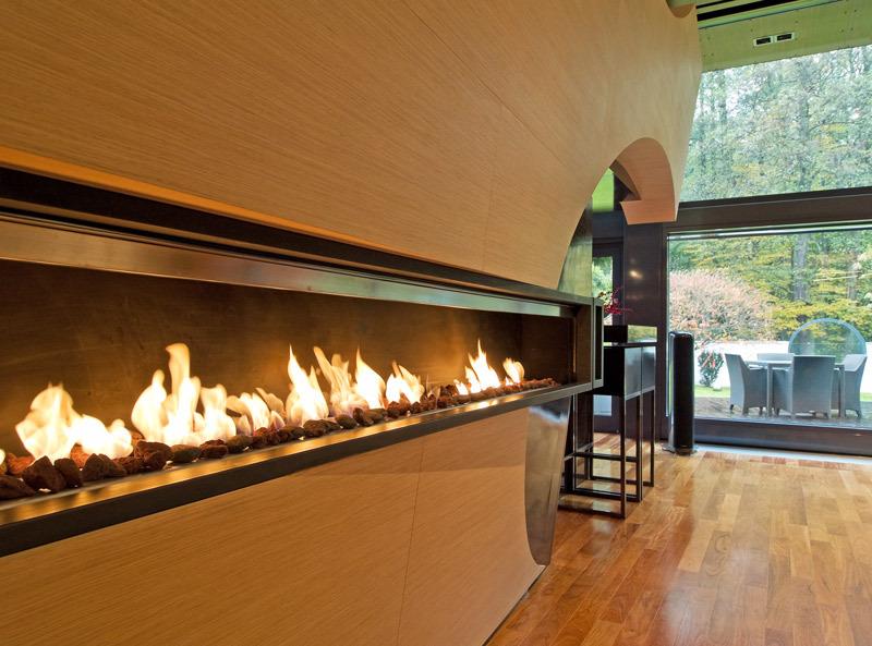 Biofireplace: Fire Line by Planika Fires