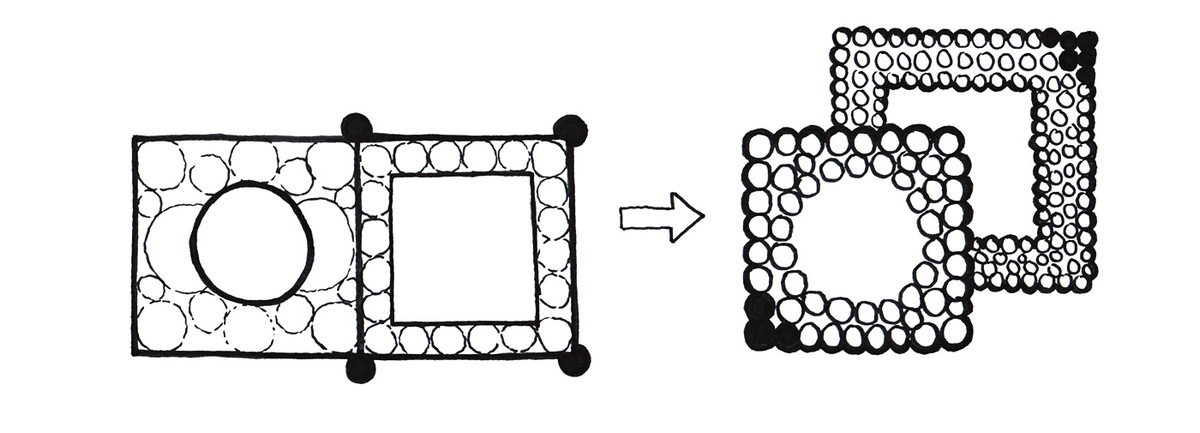 Diagram, fresh history (Image: Taller 301 and L+CC)