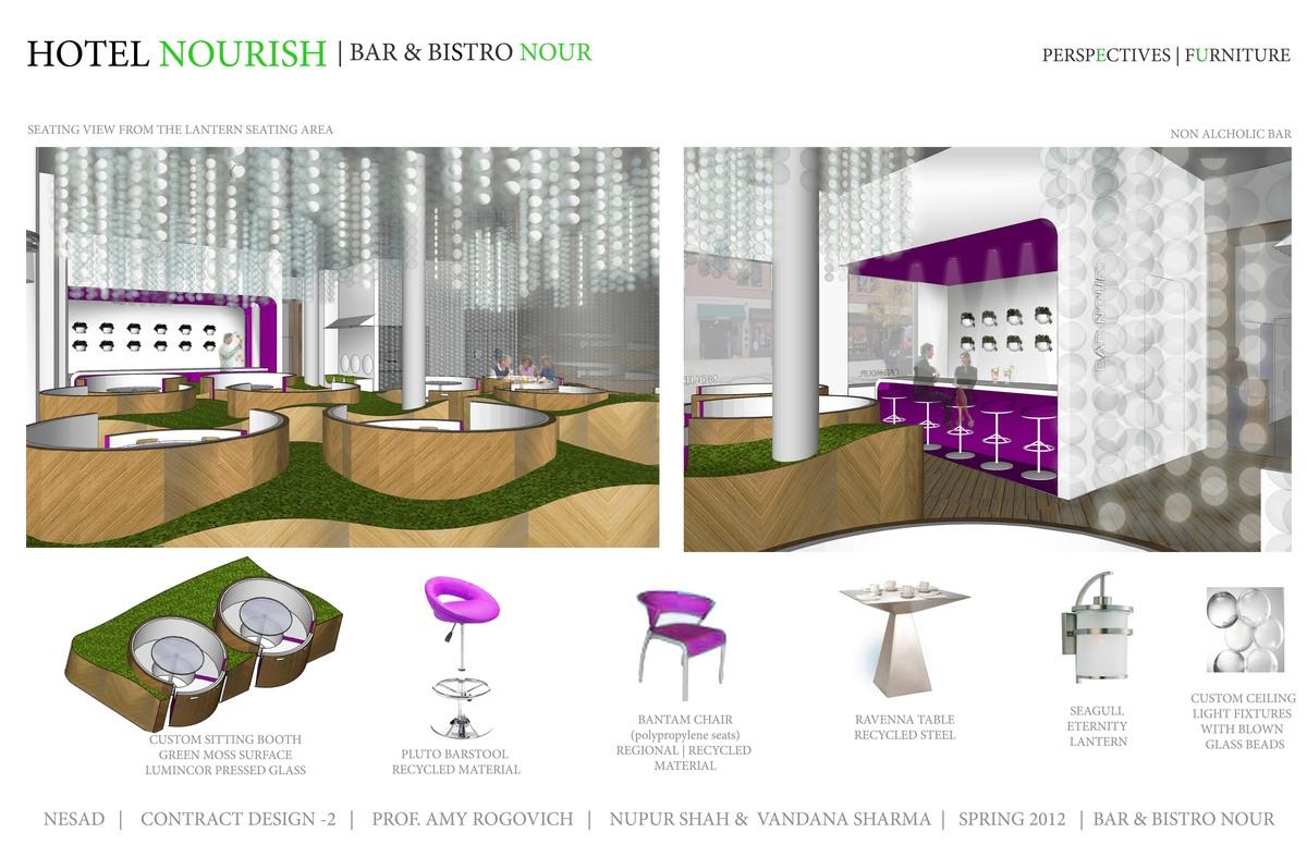 Perspectives, Furniture- Bar & Bistro nour