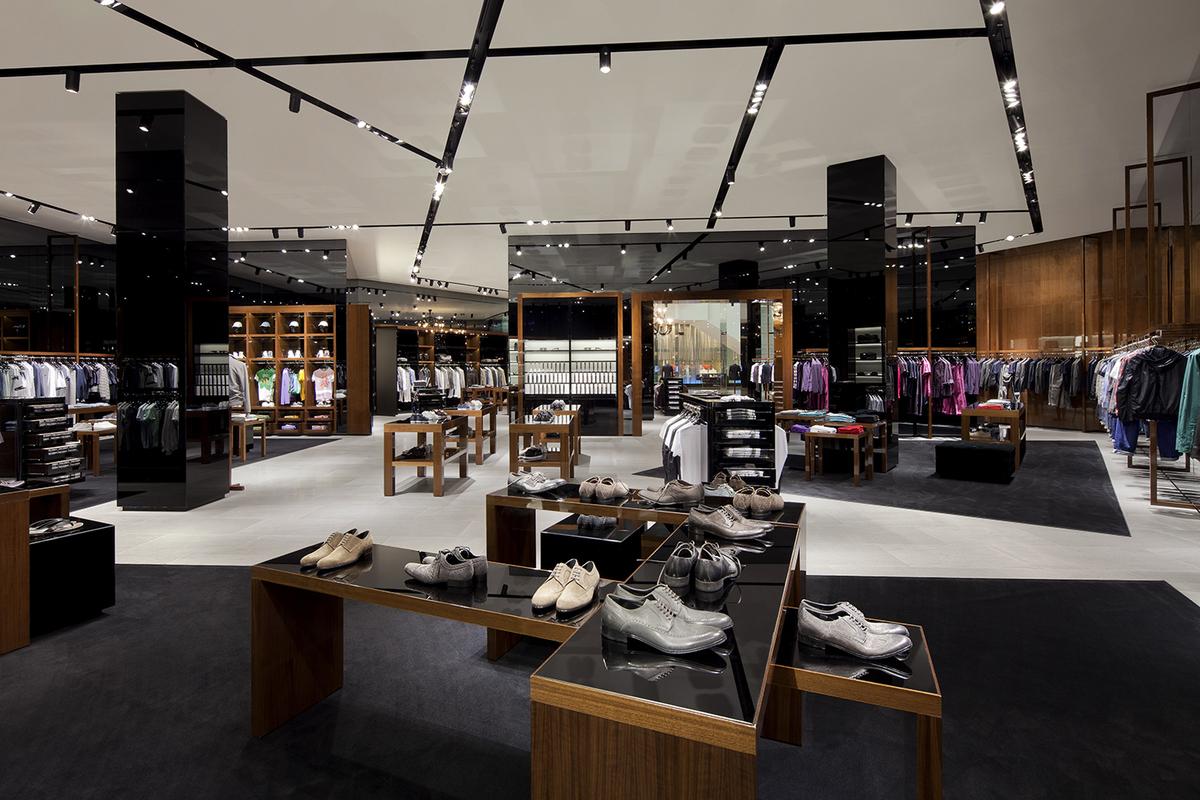 Dolce & Gabbana store in Las Vegas.