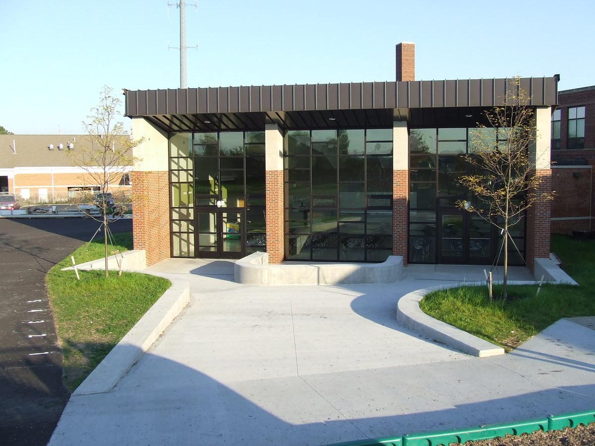 Exterior Entry Ramp / Plaza