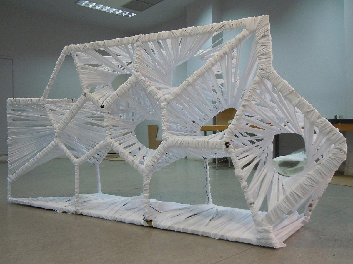 Final assembled model / Horror Vacui (Photo: Alexandros Kallegias)