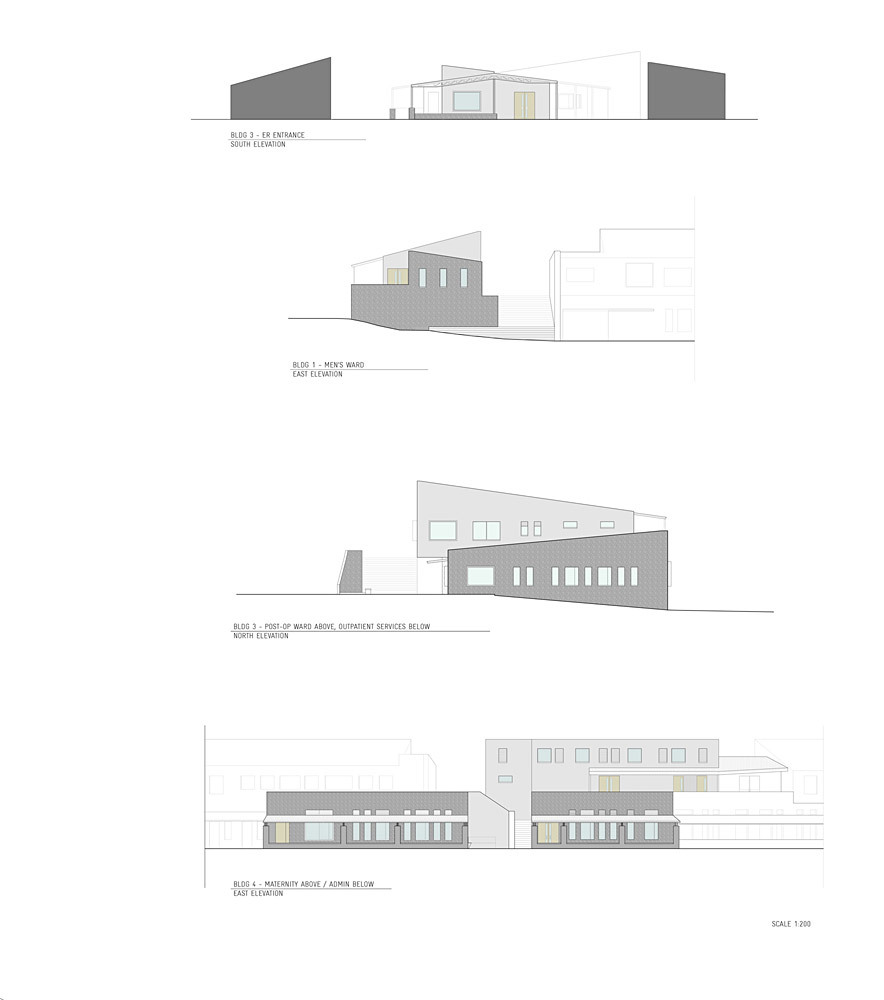 Selected elevations (Image courtesy of MASS Design Group)