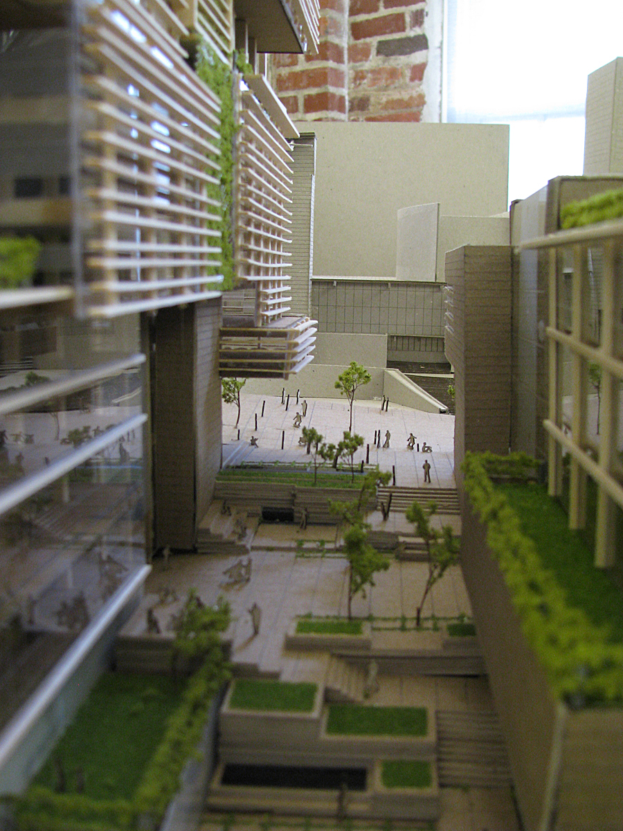 Physical Model Courtyard